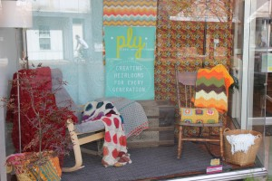 One Cozy Window Display