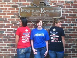 The staff at Industrial Revolution is eager to serve visitors.