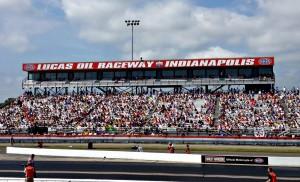Lucas Oil Raceway in Brownsburg, Indiana
