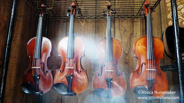 Biggs Violin Shop in Porter, Indiana