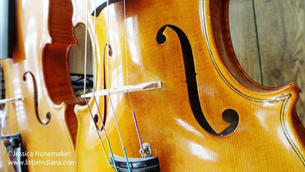 Biggs Violin Shop in Porter, Indiana
