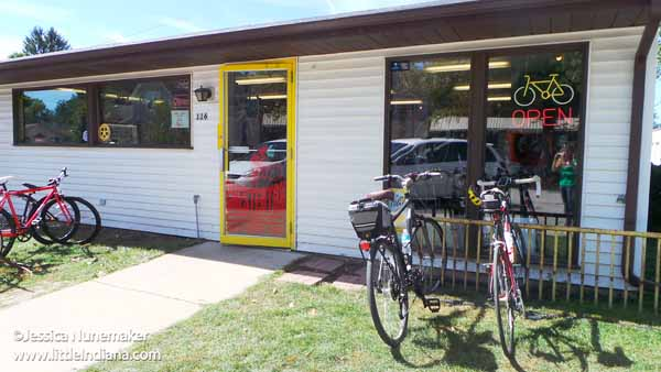 Chesterton Bicycle Station in Chesterton, Indiana Exterior