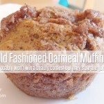 Grandma's Old Fashioned Oatmeal Muffins Recipe