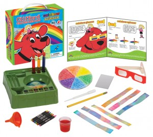 Rainbow Science with Clifford the Big Red Dog
