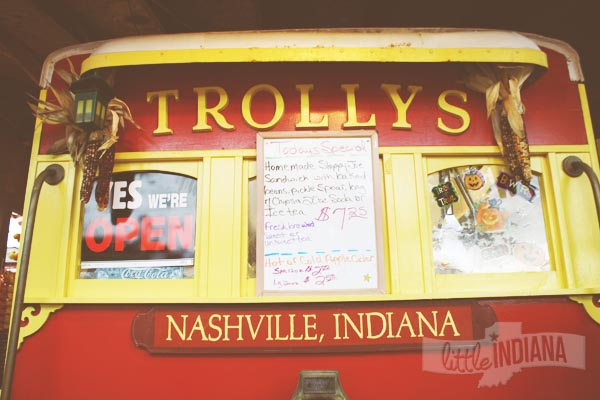 The Trolley in Nashville, Indiana