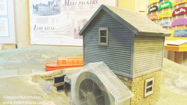 Wabash and Erie Canal Interpretive Center and Museum in Delphi, Indiana Water Play