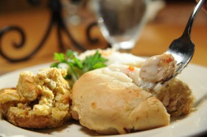 Turkey Pie at Strongbow Inn in Valparaiso, Indiana