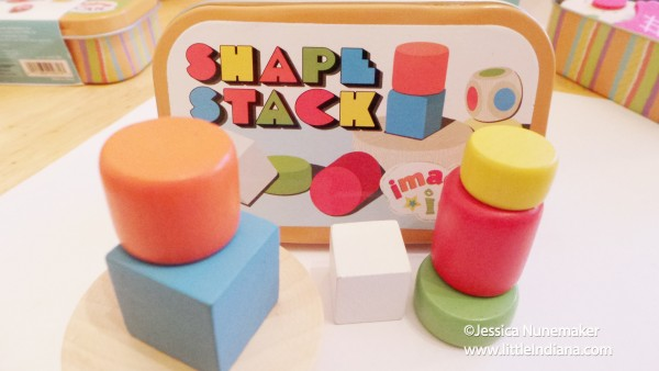 Imagine I Can Shape Stacker Manhattan Toy Review