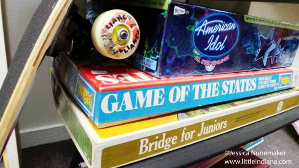 Junk and Disorderly in Chesterton, Indiana Vintage Board Games