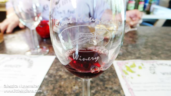 Scout Mountain Winery in Corydon, Indiana Wine
