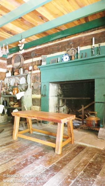 Shubael Little Pioneer Village in Cannelton, Indiana