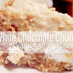 White Chocolate Chunk Oatmeal Cookie Dough Bars Recipe
