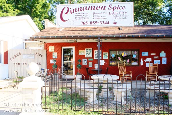 Cinnamon Spice Bakery in Centerville, Indiana Exterior