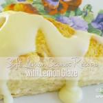 Lemon Scones Recipe with Lemon Icing
