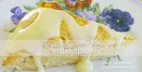 Lemon Scones Recipe with Lemon Icing