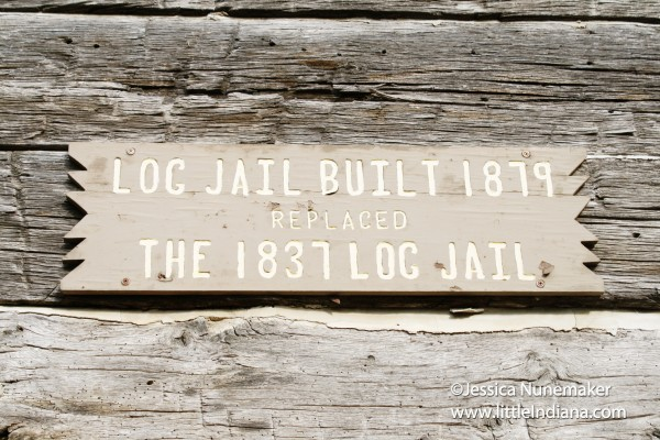 1979 Log Jail in Nashville, Indiana