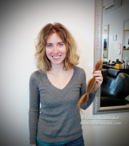 Donating Hair to Locks of Love