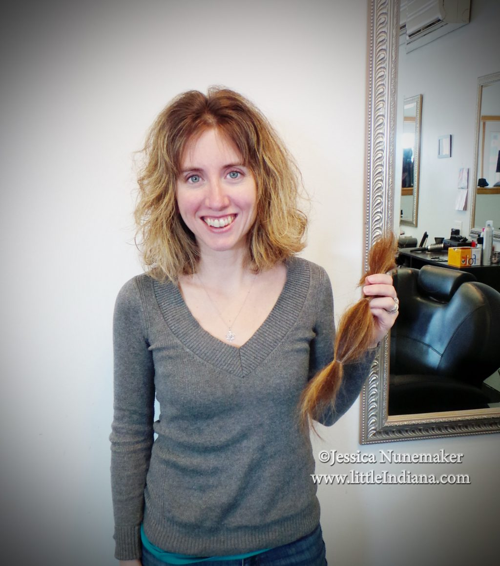 Chopped Off My Hair and Donated it to Locks of Love
