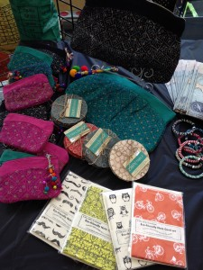Supporting artisans from around the world at the International Festival at IUPUI in Indianapolis, Indiana
