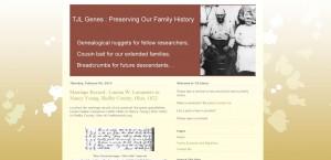 Indiana Blogs: TJL Genes