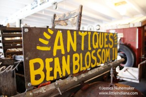Plum Creek Antiques in Bean Blossom, Indiana
