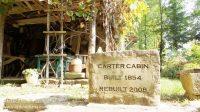 Shubael Little Pioneer Village in Cannelton, Indiana Carter Cabin