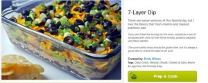 Cooking PlanIt Seven Layer Dip Recipe