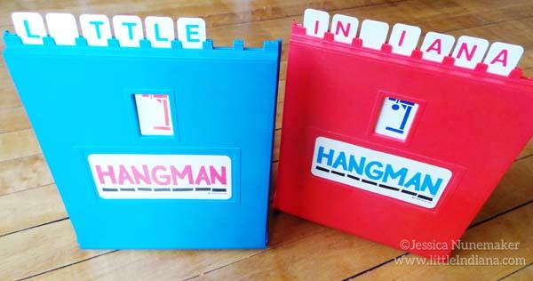 Hangman Game by Milton Bradley