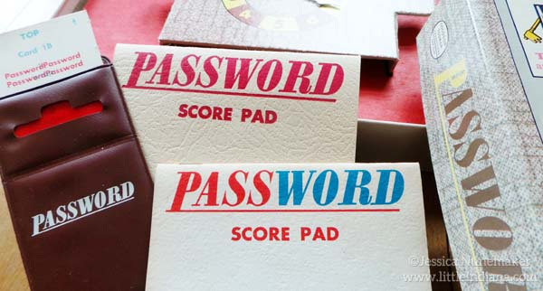 Password Game by Milton Bradley for Family Game Night