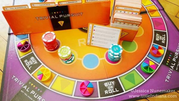 Trivial Pursuit Bet You Know It Board Game by Hasbro