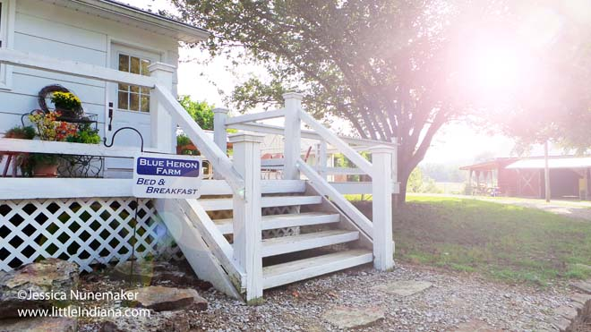 Blue Heron Bed and Breakfast in Cannelton, Indiana Exterior