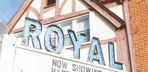 Royal Theater in Danville, Indiana: Site of Indiana Short Film Festival