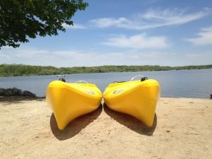 Paddle Boats Eagle Creek Park