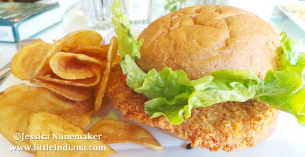 Almost Home Restaurant in Greencastle, Indiana Pork Tenderloin Sandwich