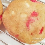 Cherry White Chocolate Chip Cookies Recipe