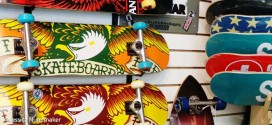 Chesterton Bicycle Station in Chesterton, Indiana Skateboards