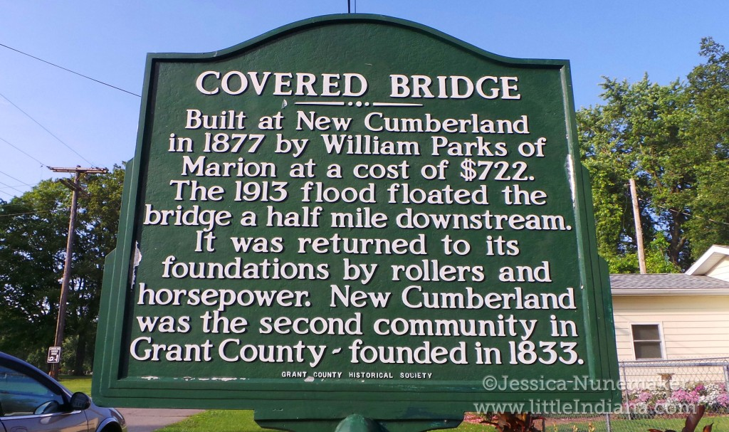 Cumberland Covered Bridge in Matthews, Indiana