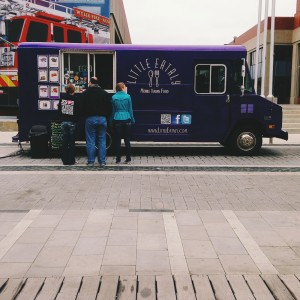 Indianapolis-based food truck Little Eataly, which specializes in Sicilian-style items, is in battle with a big-city food market.