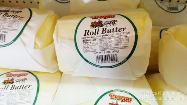 Amish Cheese Shop in Cambridge City, Indiana Amish Roll Butter