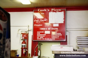 Cook's Pizza in Wakarusa, Indiana