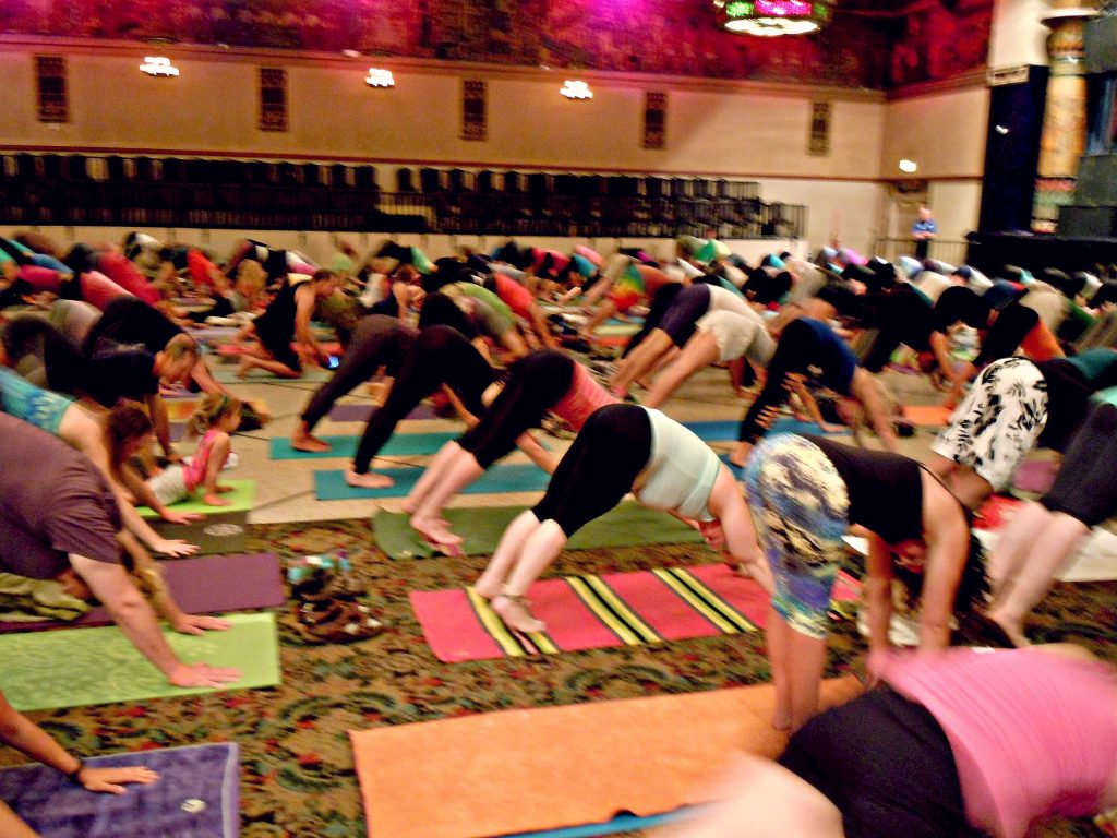 Soulshine Yoga Tour with Michael Franti and Spearhead in
