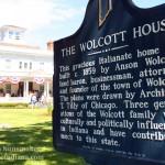 Anson Wolcott House in Wolcott, Indiana