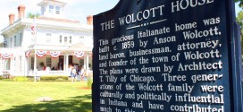 Anson Wolcott House in Wolcott, Indiana