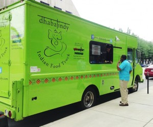 Dhaba Indy, an extension of the Indianapolis restaurant Spice Nation, hit the streets in June 2013.