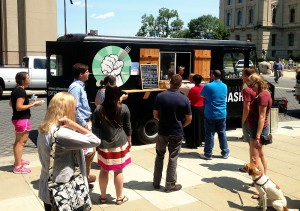 Citizen Hash was partially funded by a Kickstarter campaign launched in 2013. The truck has been on the streets of Indianapolis for only a few months.