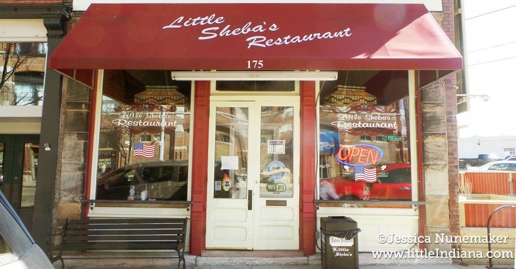 Little Sheba's Restaurant Exterior in Richmond, Indiana
