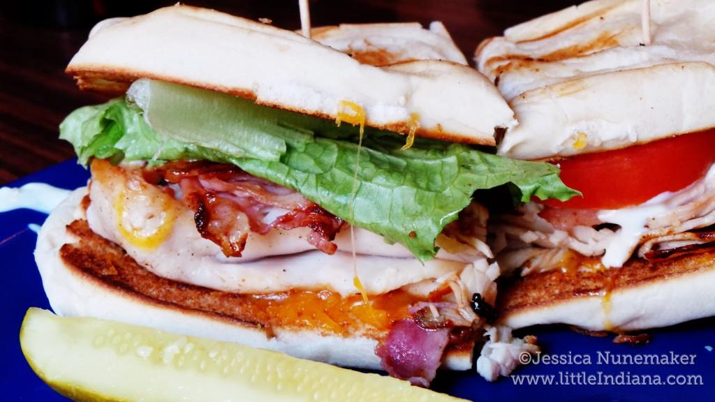 Italian Stallion Sandwich at Little Sheba's Restaurant in Richmond, Indiana