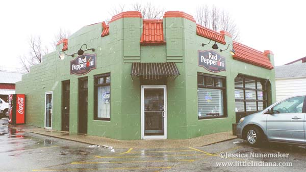 Red Pepperoni Pizzeria in Madison, Indiana Exterior