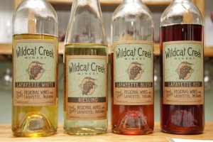 Wildcat Winery Wines in Lafayette Indiana