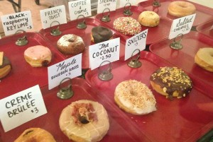 GADCO offers a wide variety of craft donuts for purchase, but one dozen cake or Cinnamon Sugar donuts can be purchased for $12.